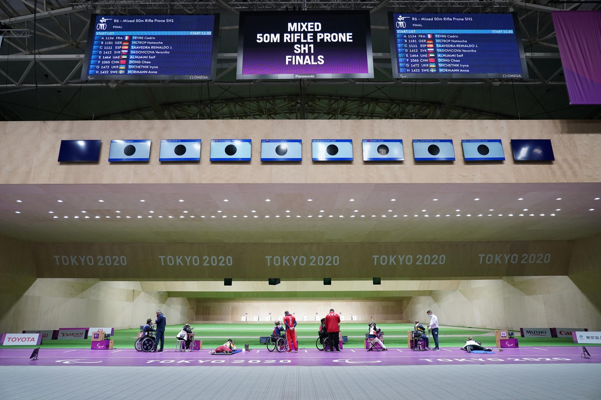 Slovakia's Veronika Vadovičová won the final shooting event of Tokyo 2020 ©Getty Images