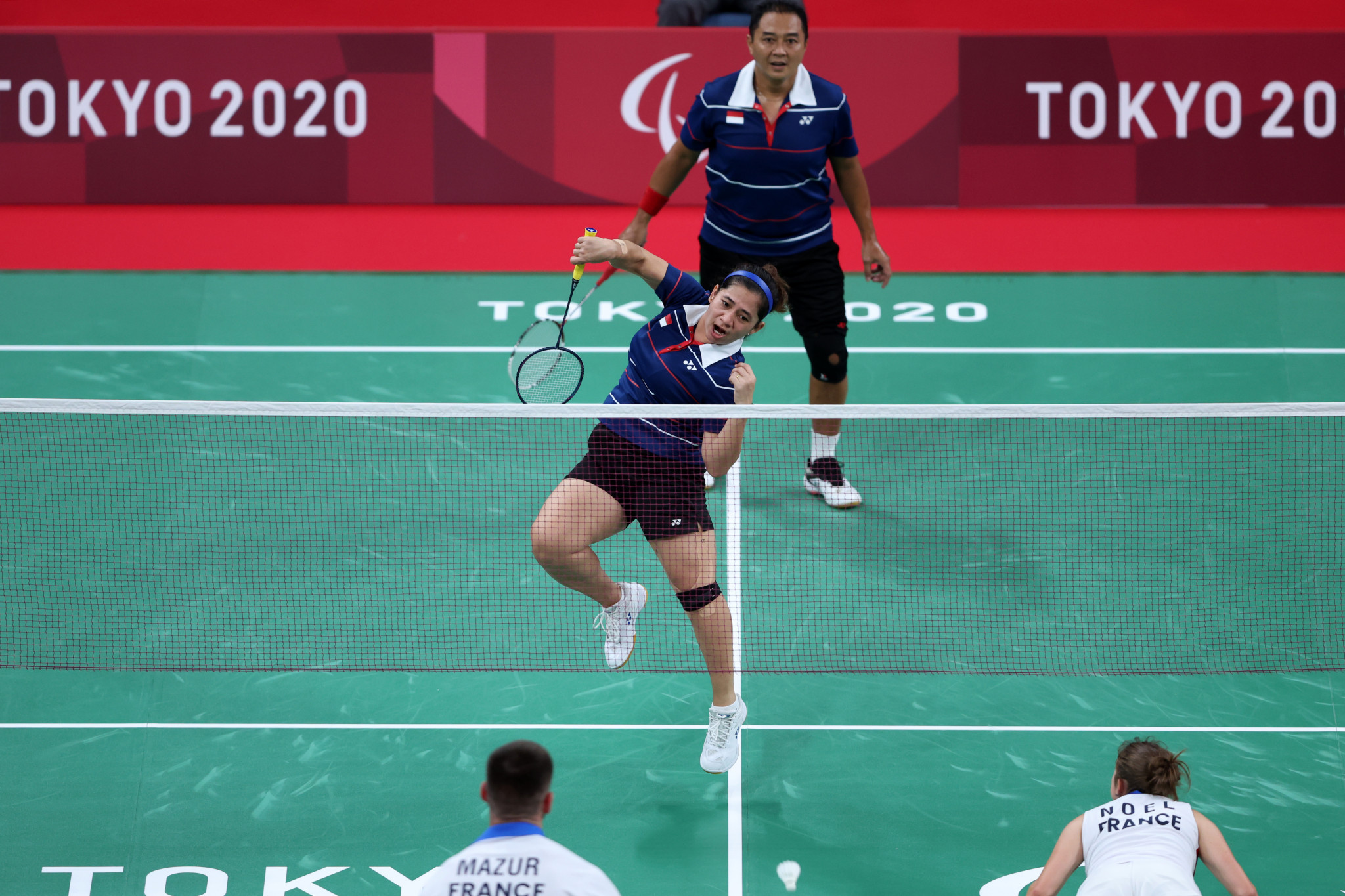Indonesia's Hary Susanto and Leani Ratri Oktila won the final gold medal of Tokyo 2020 ©Getty Images
