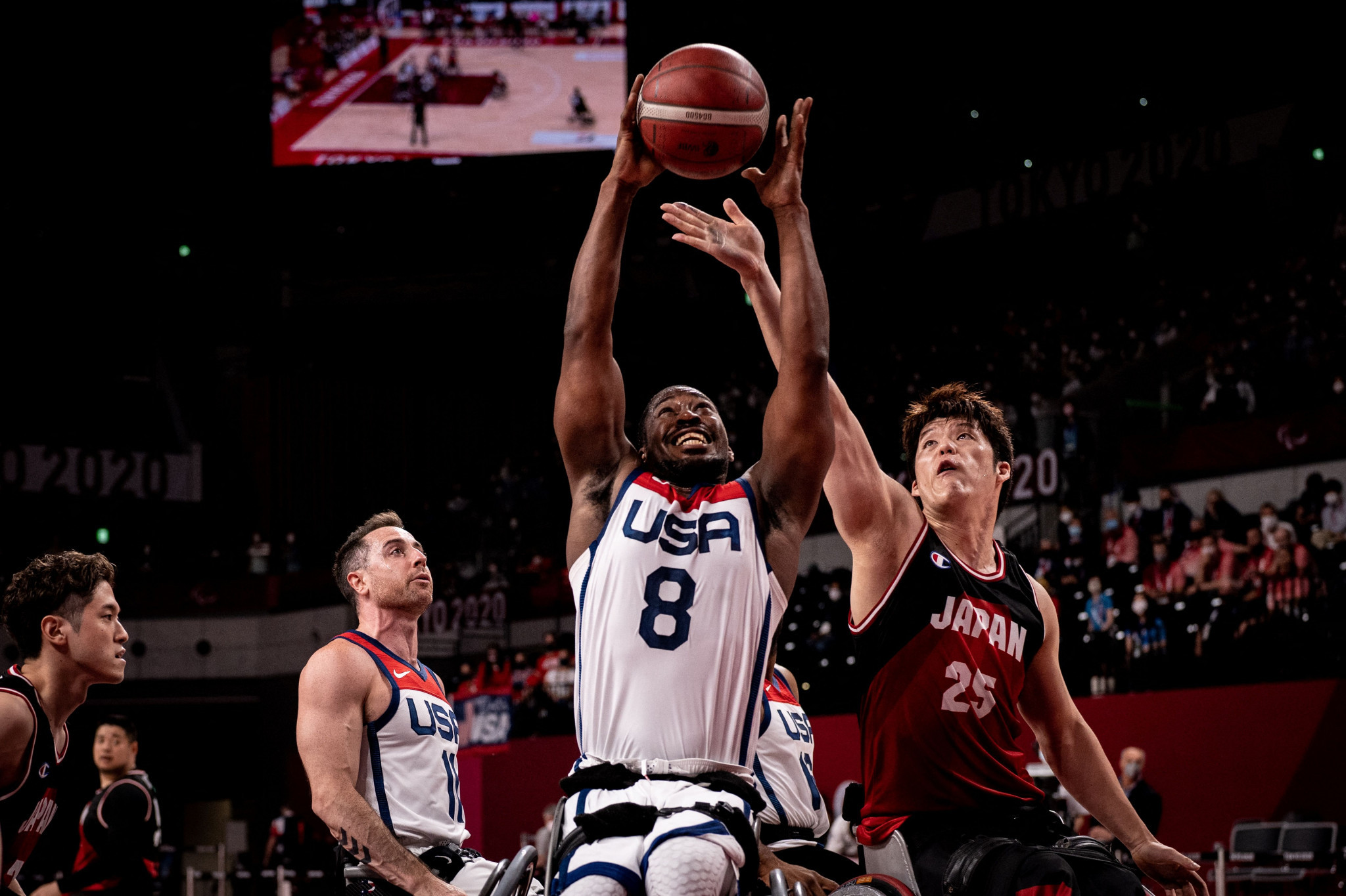 The United States retained their wheelchair basketball Paralympic title by beating hosts Japan ©Getty Images