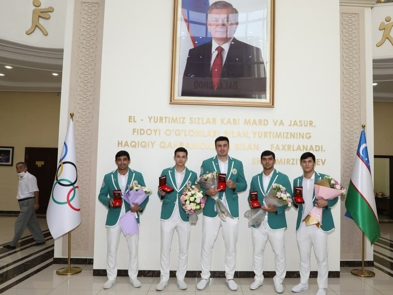 Uzbekistan NOC honours Olympic medal-winning athletes on 30-year independence anniversary