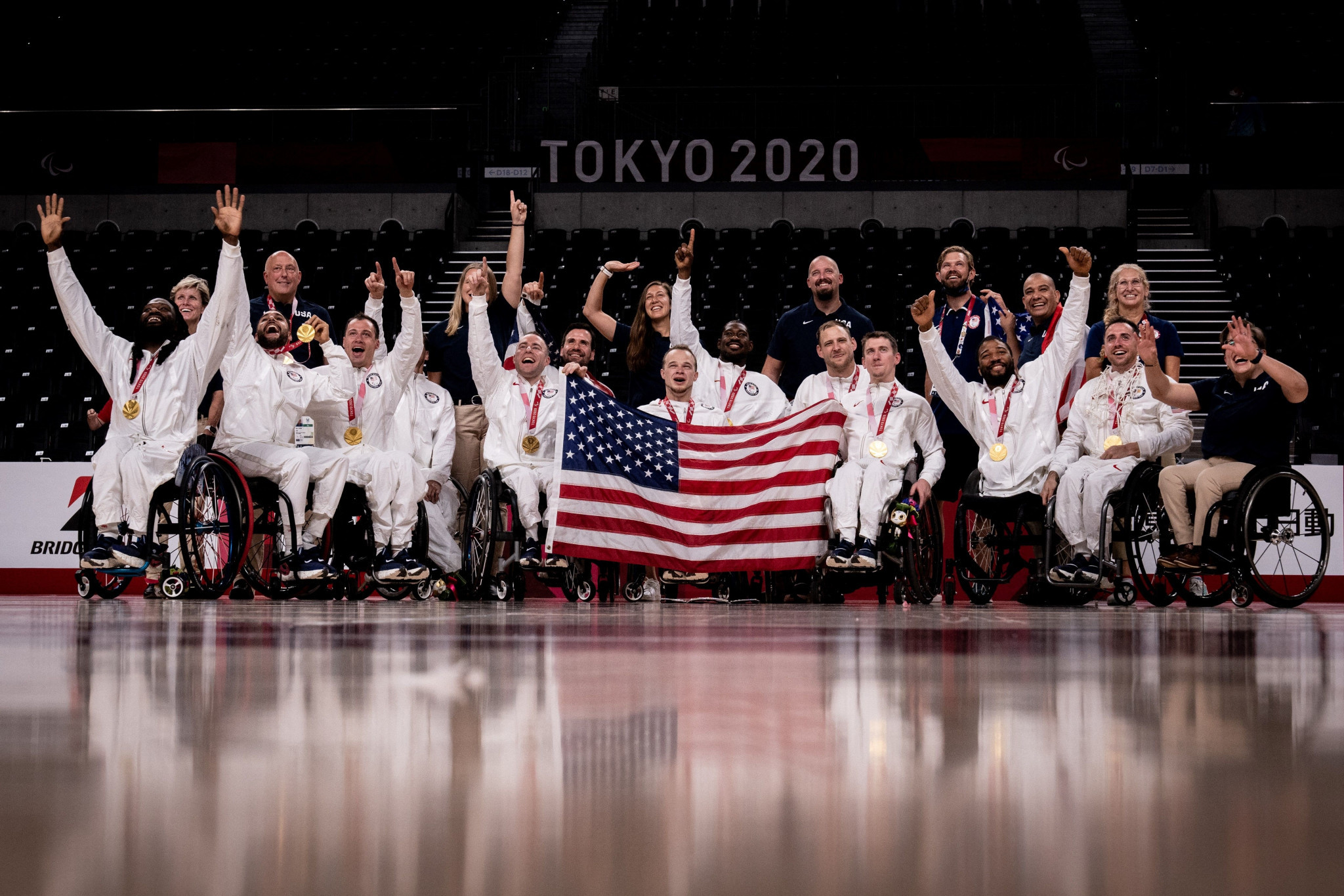 US dash Japan's hopes of men's wheelchair basketball gold with late comeback at Tokyo 2020 Paralympics