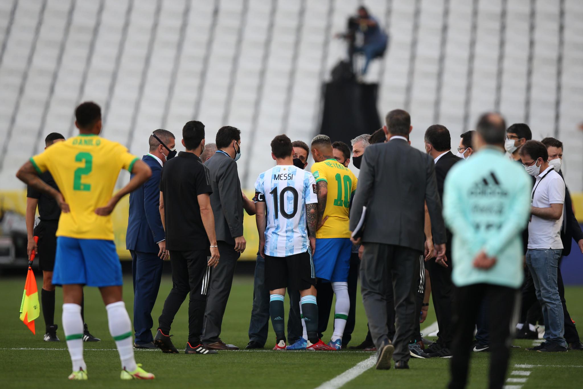CONMEBOL suspend Brazil-Argentina World Cup qualifier after quartet falsify COVID quarantine information