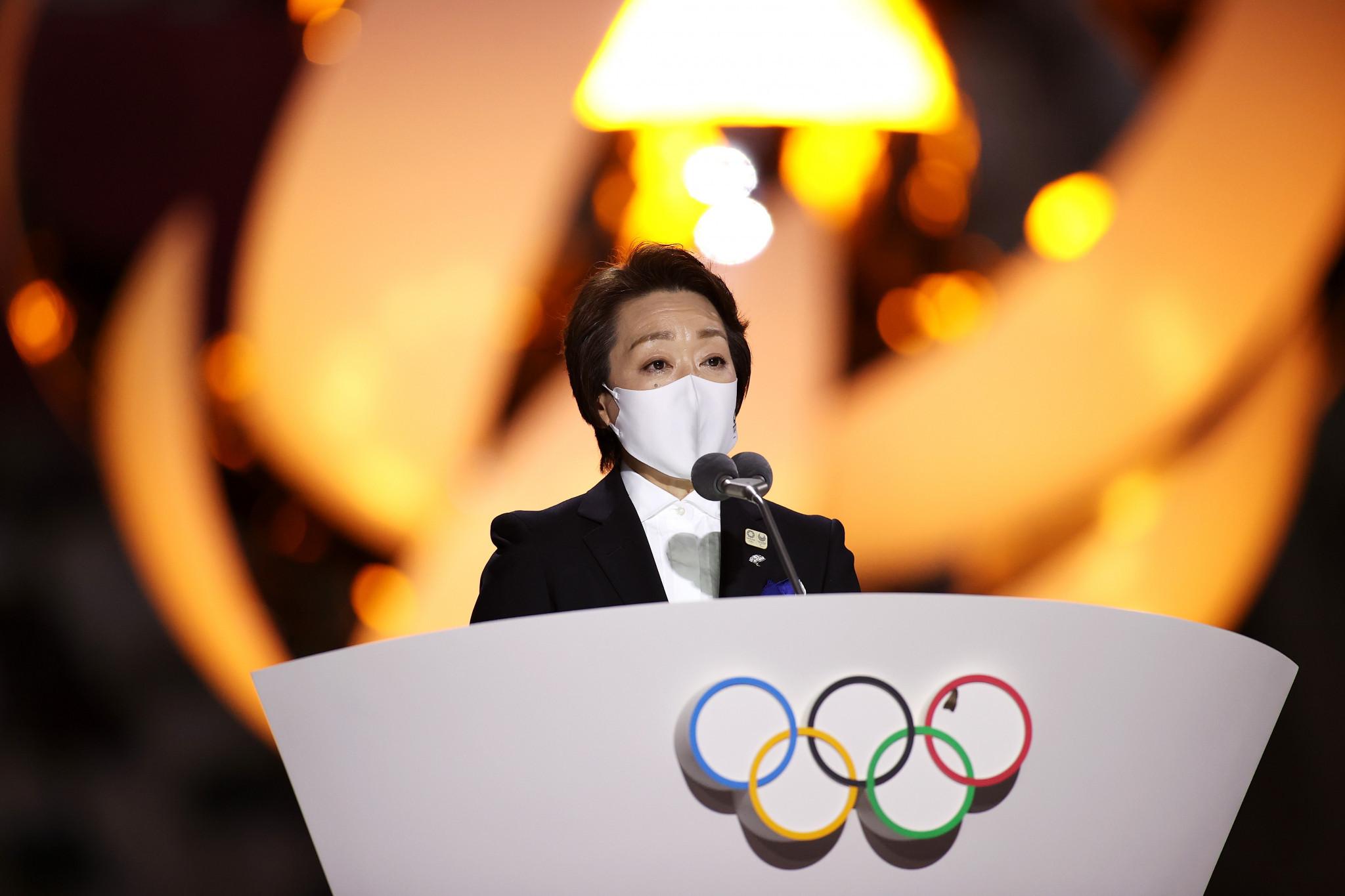 "Tokyo 2020 President Seiko Hashimoto ""proud"" of hosting Olympics and Paralympics"