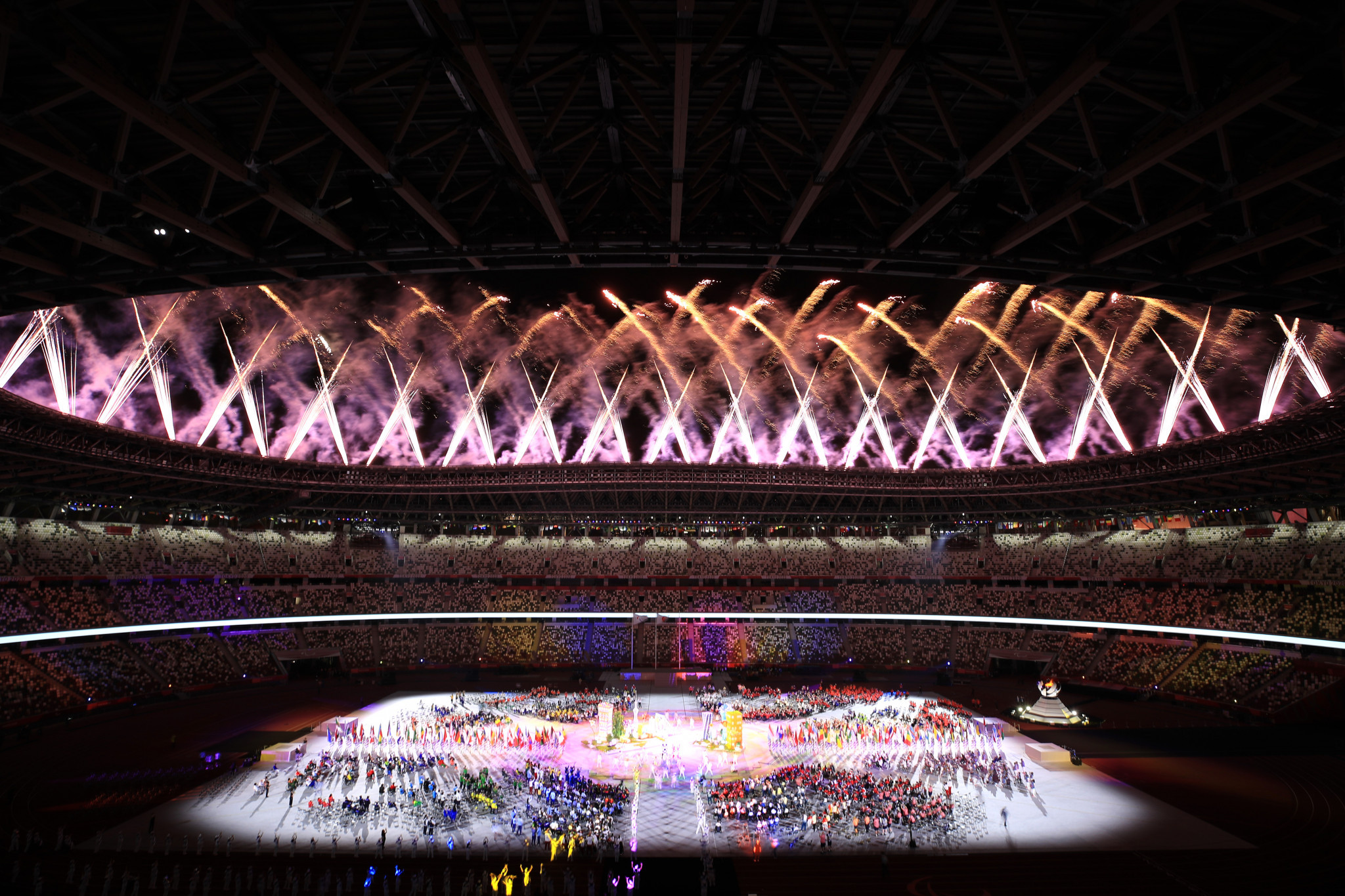 The Tokyo 2020 Paralympics Closing Ceremony marked the end of a historic Games ©Getty Images