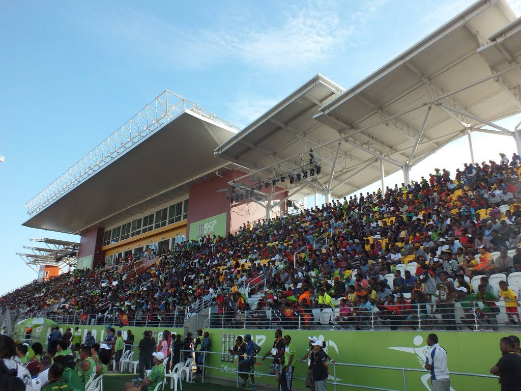 A record 500,000 spectators attended the 2015 Pacific Games in Port Moresby ©Twitter