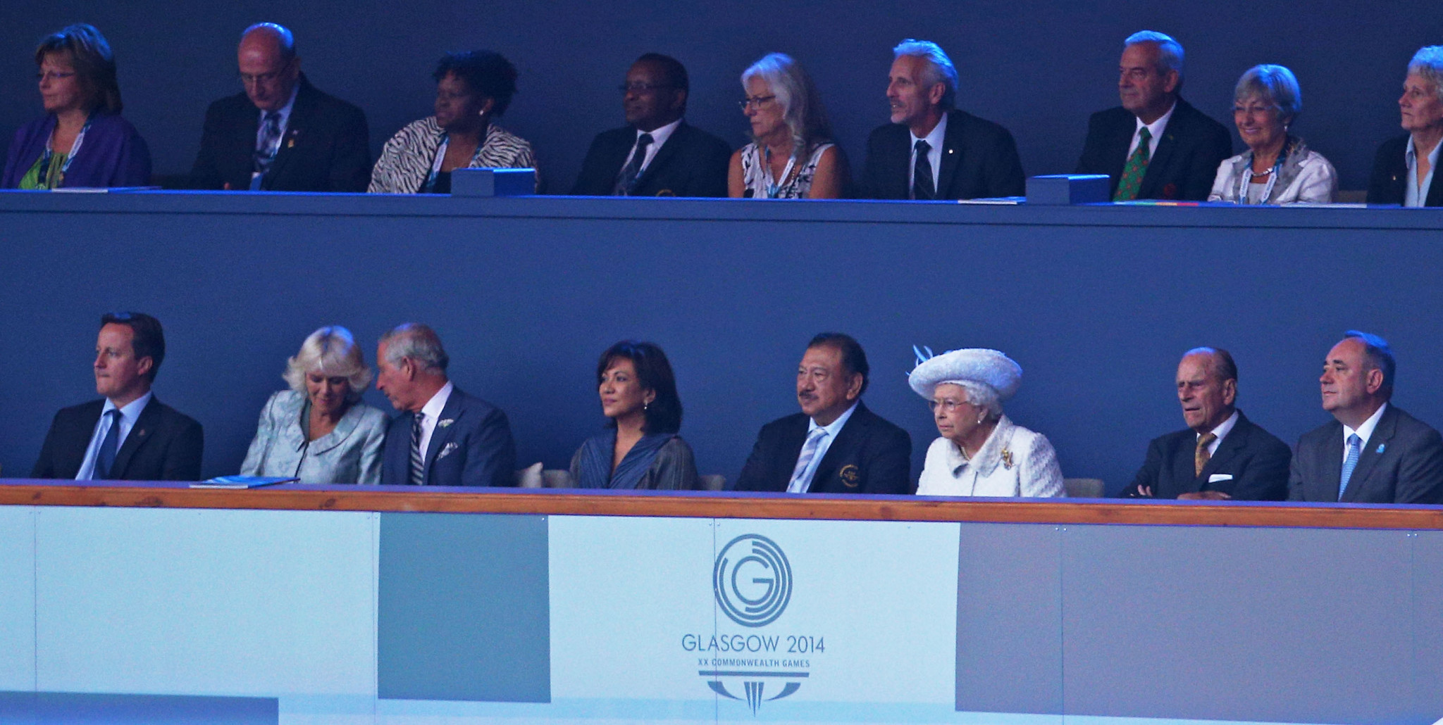 The Glasgow 2014 Commonwealth Games were the last edition of the event attended by Prince Philip ©Getty Images