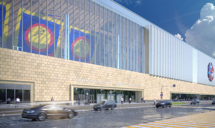 Construction of International Sambo and Boxing Center at Luzhniki in Moscow ahead of schedule