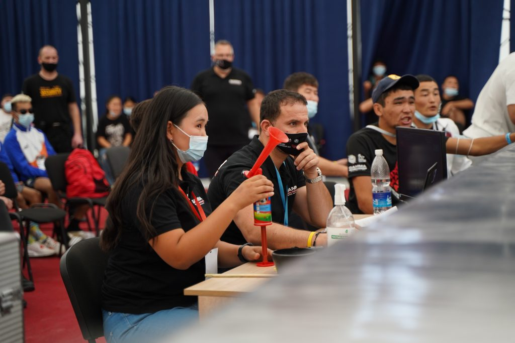 GAMMA have praised the role of volunteers at the Asian MMA Championships ©GAMMA