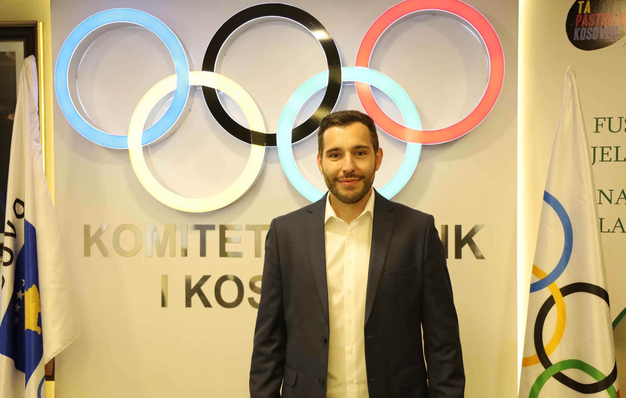 Besim Aliti has been named KOC secretary general ©KOC