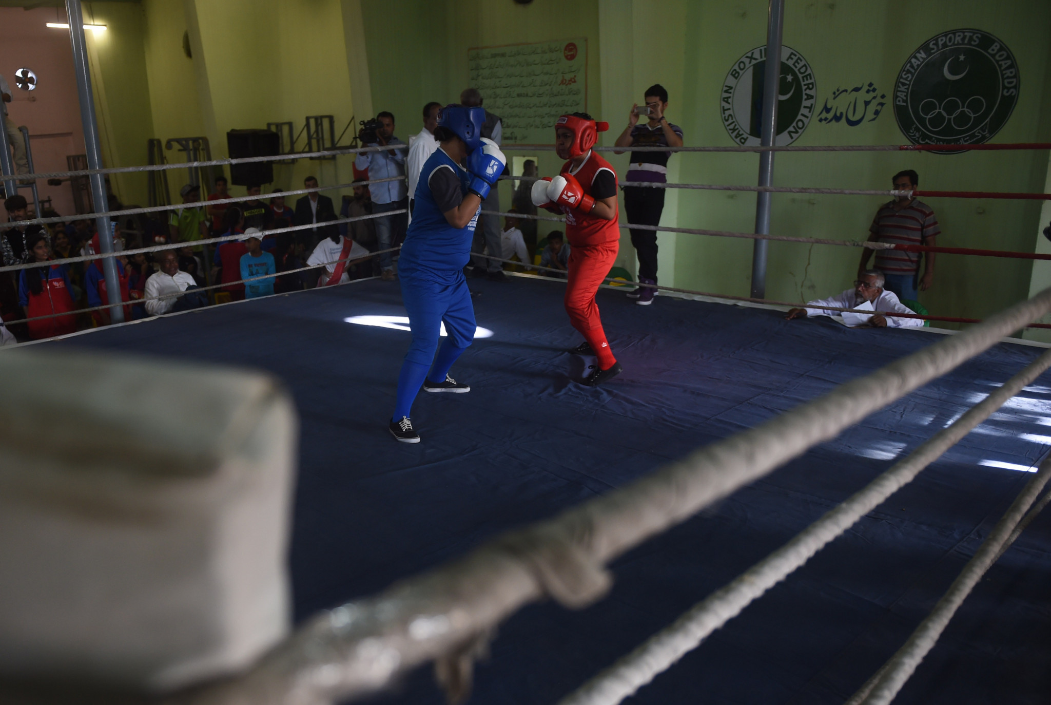 Pakistan has not fielded a boxer at the Olympic Games since Athens 2004 ©Getty Images