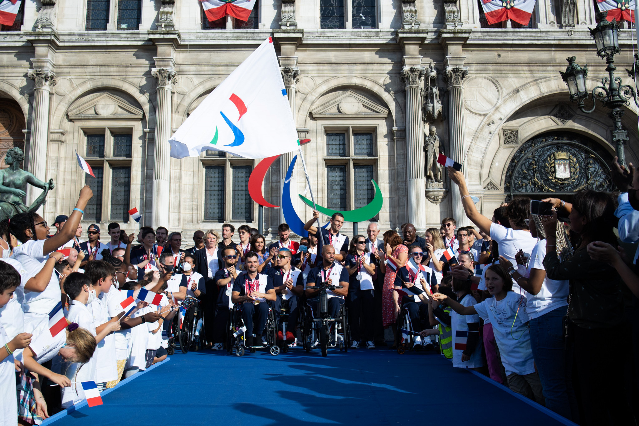 Olympic and Paralympic flags to tour France as part of Paris 2024 celebrations