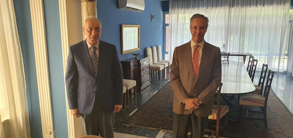 Iraq NOC President meets Spanish Ambassador in Baghdad and seeks enhanced sporting ties