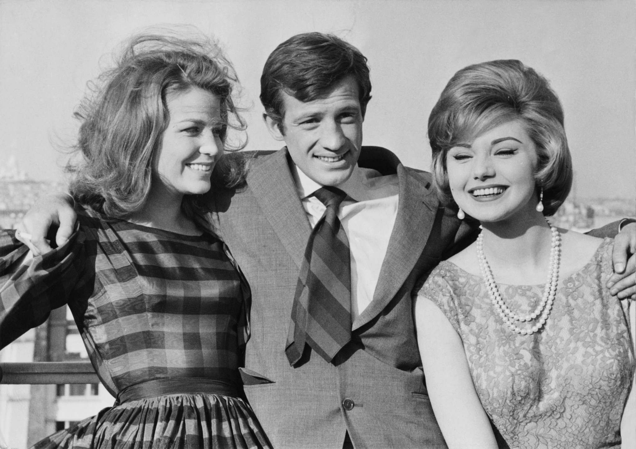 Legendary French actor Jean-Paul Belmondo, centre, has died aged 88 ©Getty Images