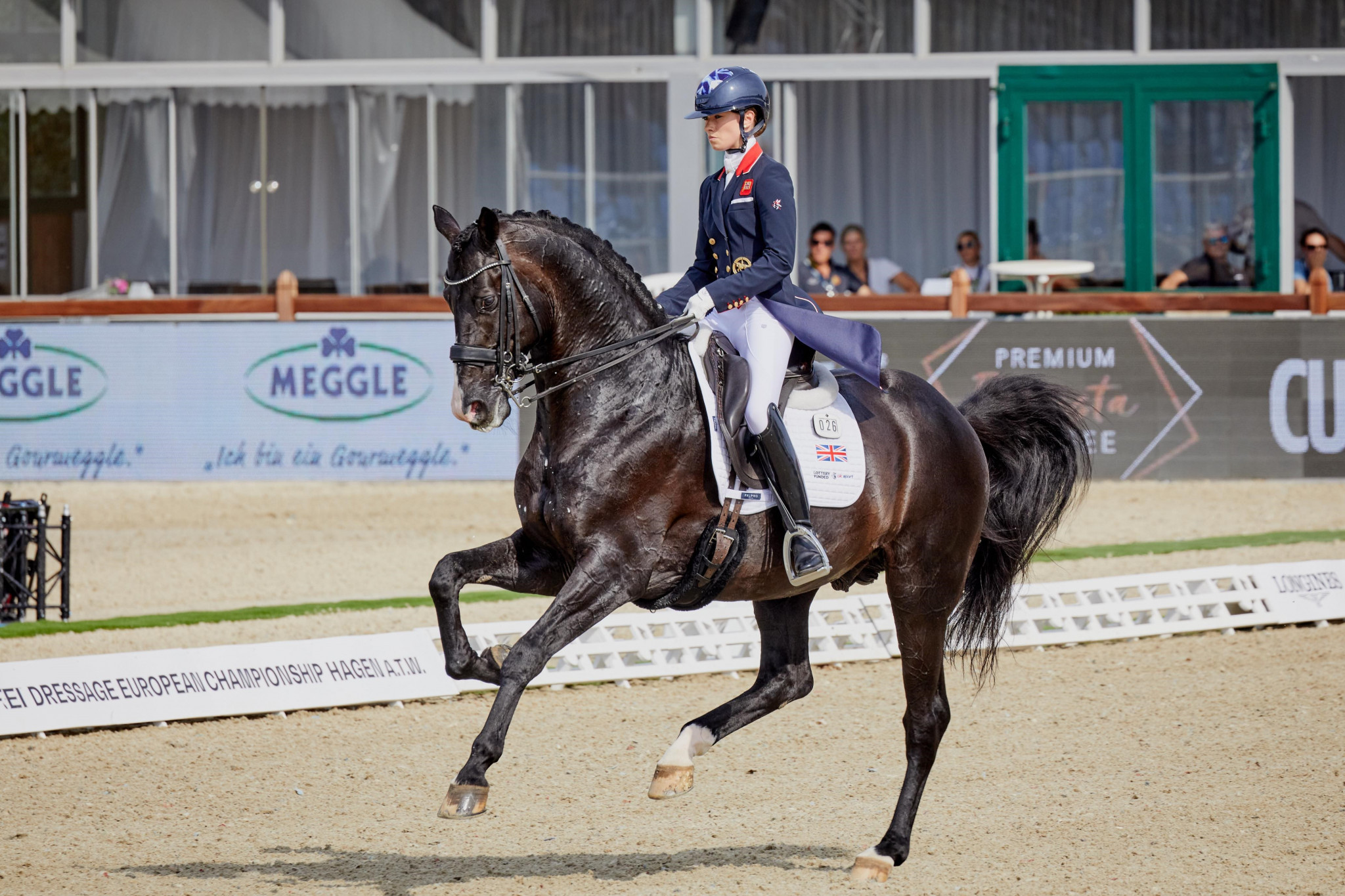 Britain lead team competition after opening day of FEI Dressage European Championships
