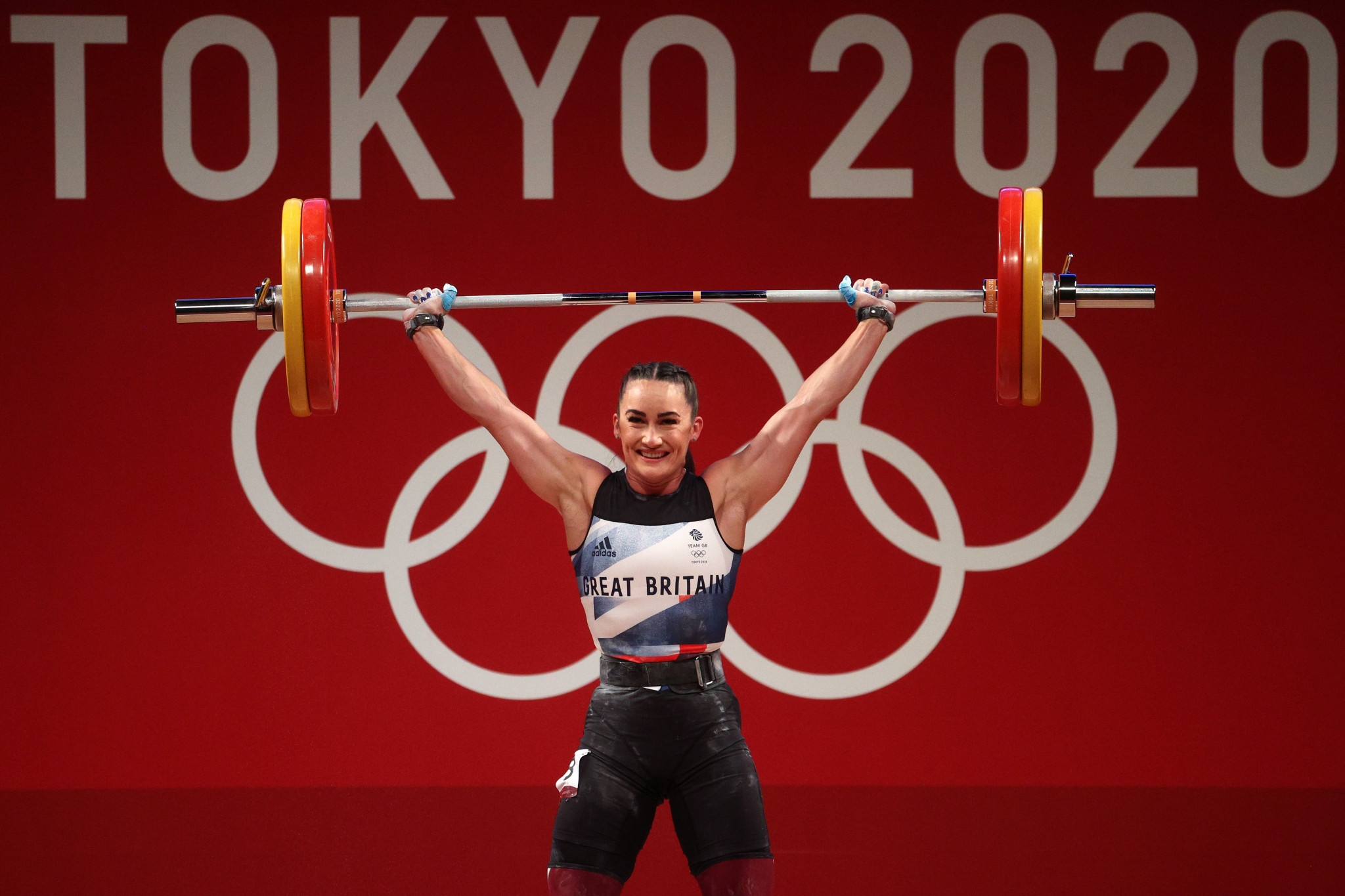 Sarah Davies finished fifth in the women's 64kg category at Tokyo 2020  ©Getty Images