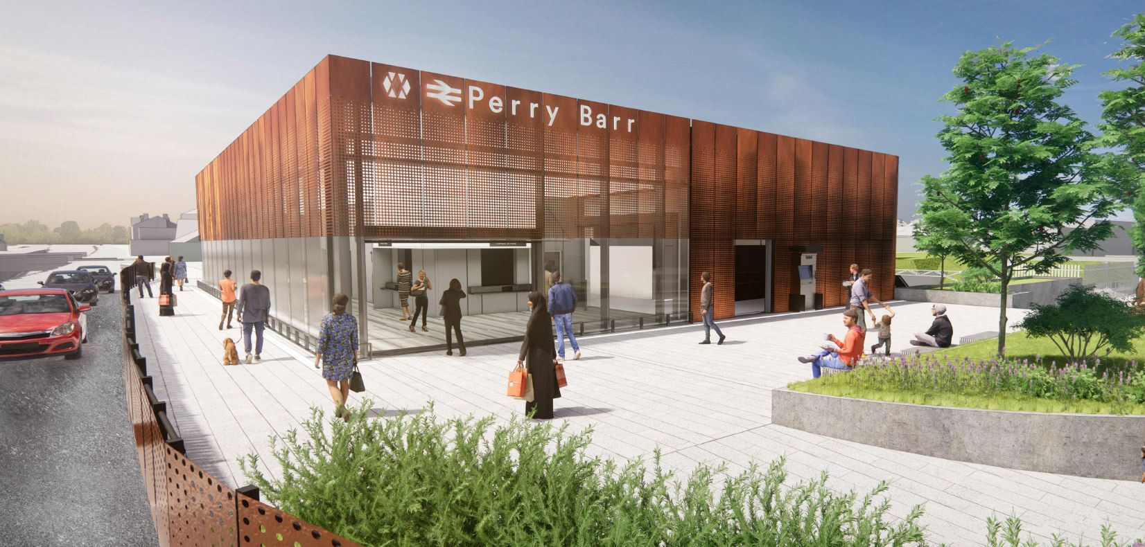 New Perry Barr railway station on track for Birmingham 2022 as West Midlands Deputy Mayor pays visit