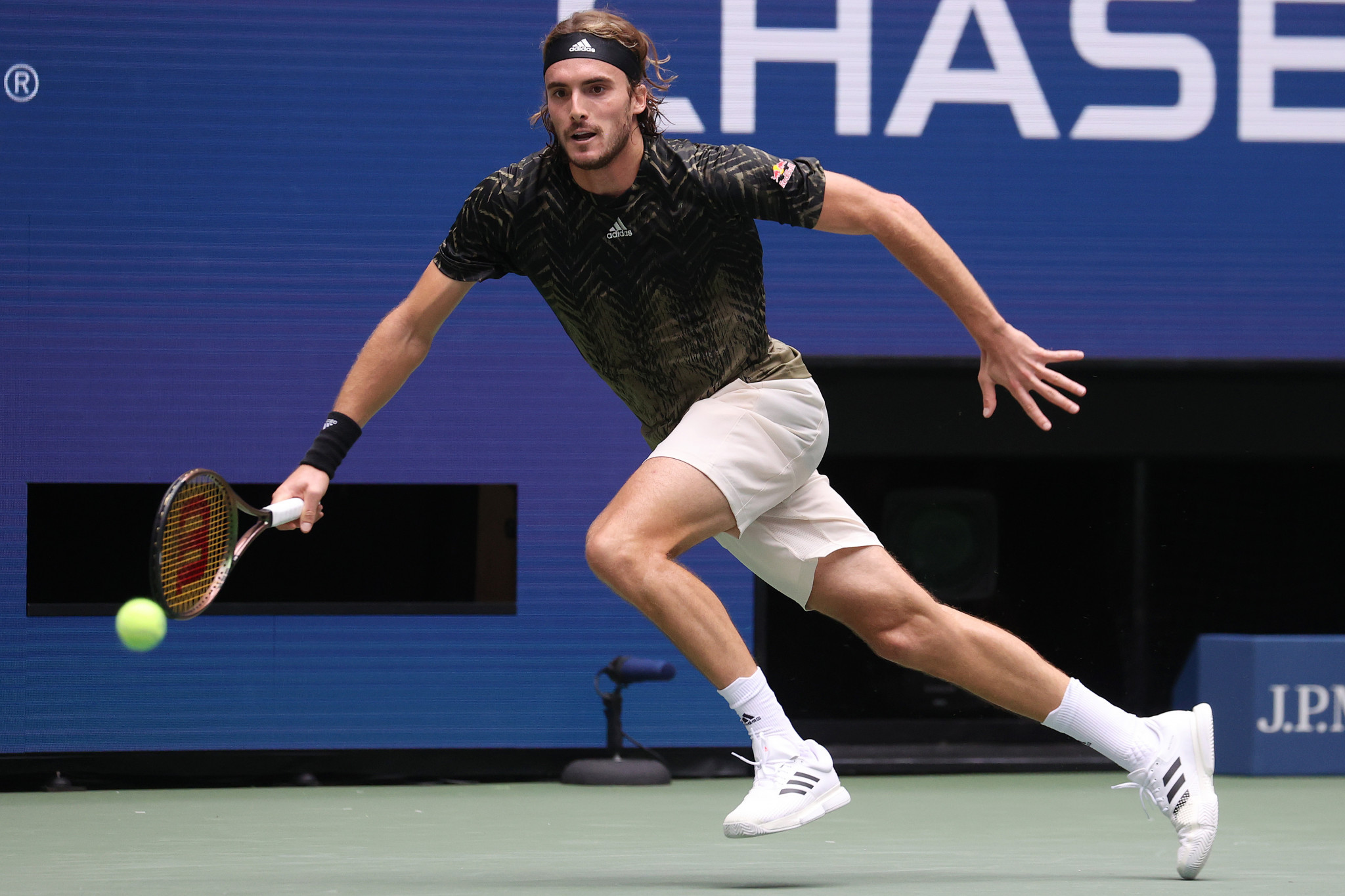 Greece's Stefanos Tsitsipas, ranked number three in the world, is among the top tennis players who have revealed they are opposed to being vaccinated against COVID-19 ©Getty Images