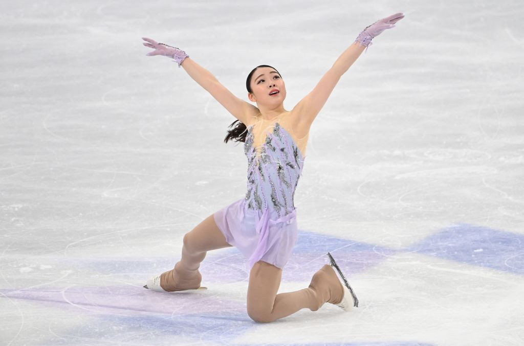 The 19-year-old Japanese star is hoping to ramp up her preparations for the 2022 Winter Olympics in Beijing ©Getty Images