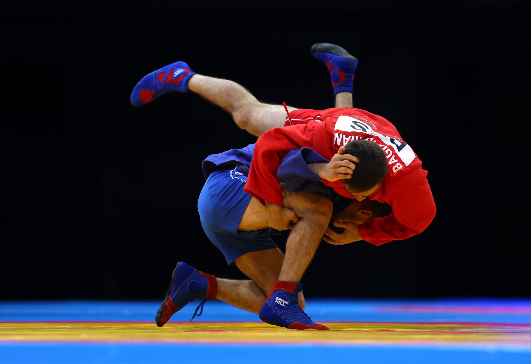 Hosts Russia dominate Games of the CIS Countries sambo tournament