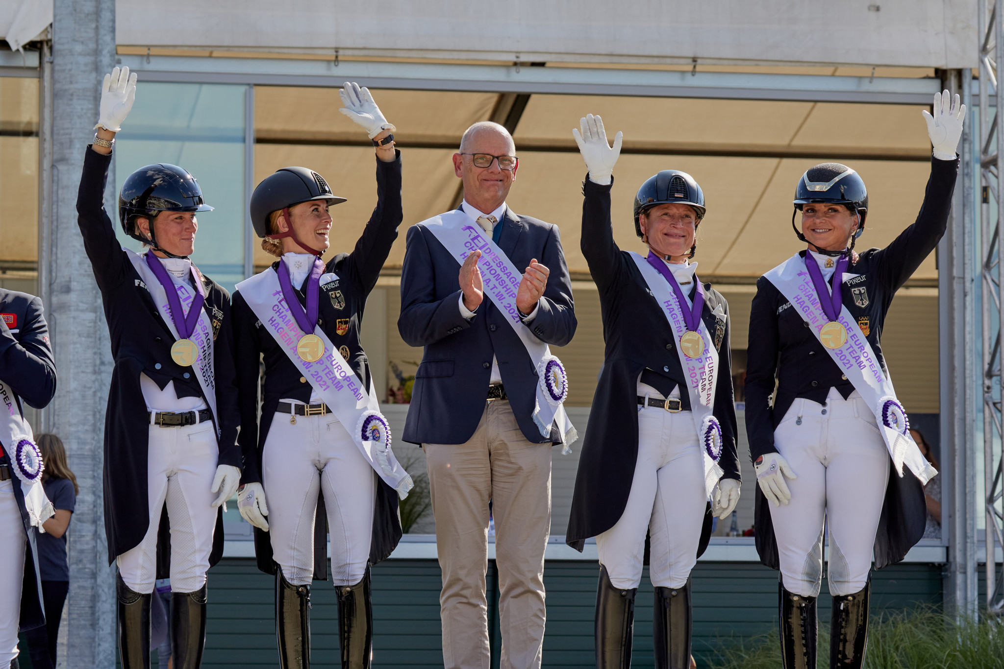 Germany successfully defend FEI Dressage European Championships team title