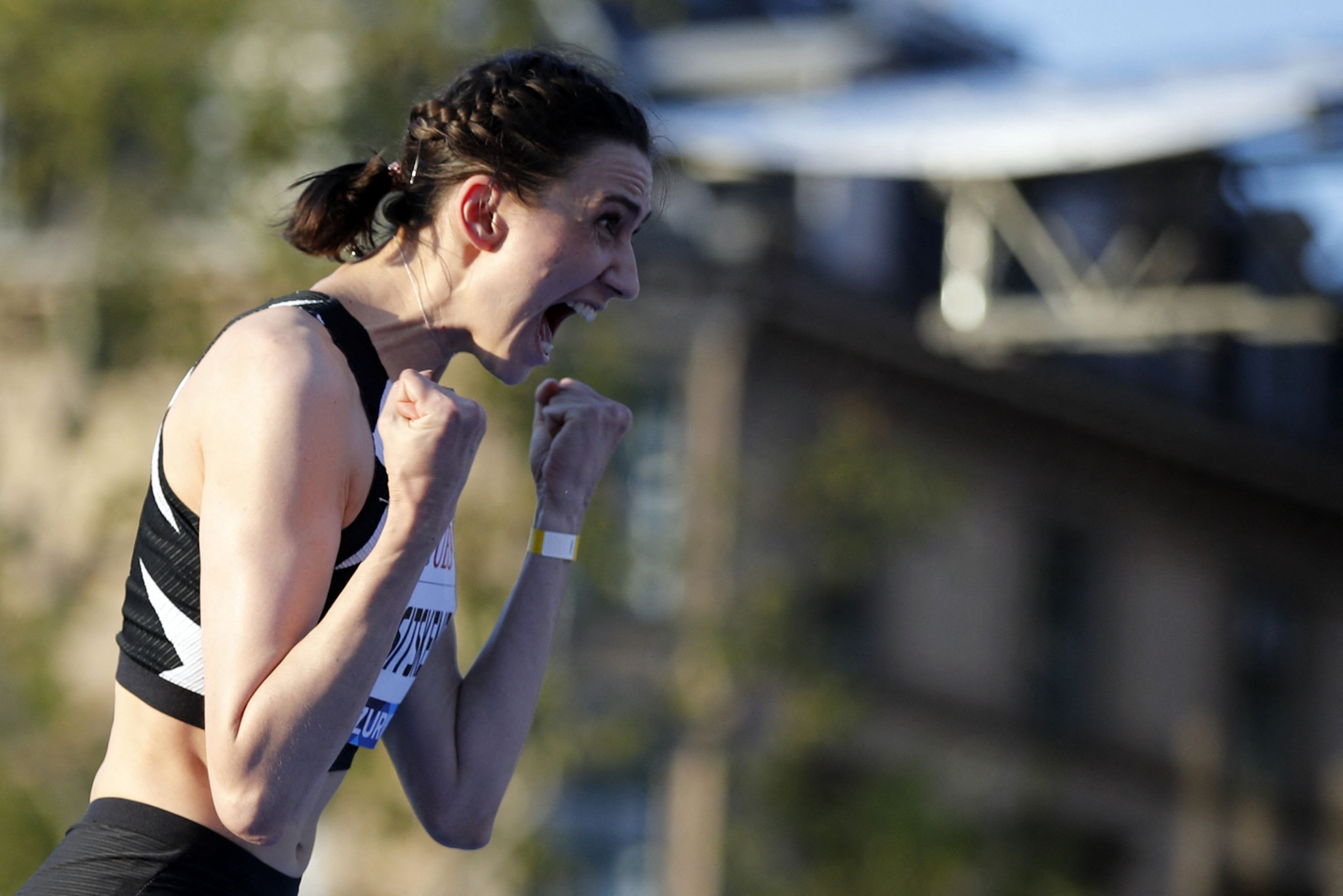 Lasitskene adds fifth Diamond League Trophy to Olympic high jump title
