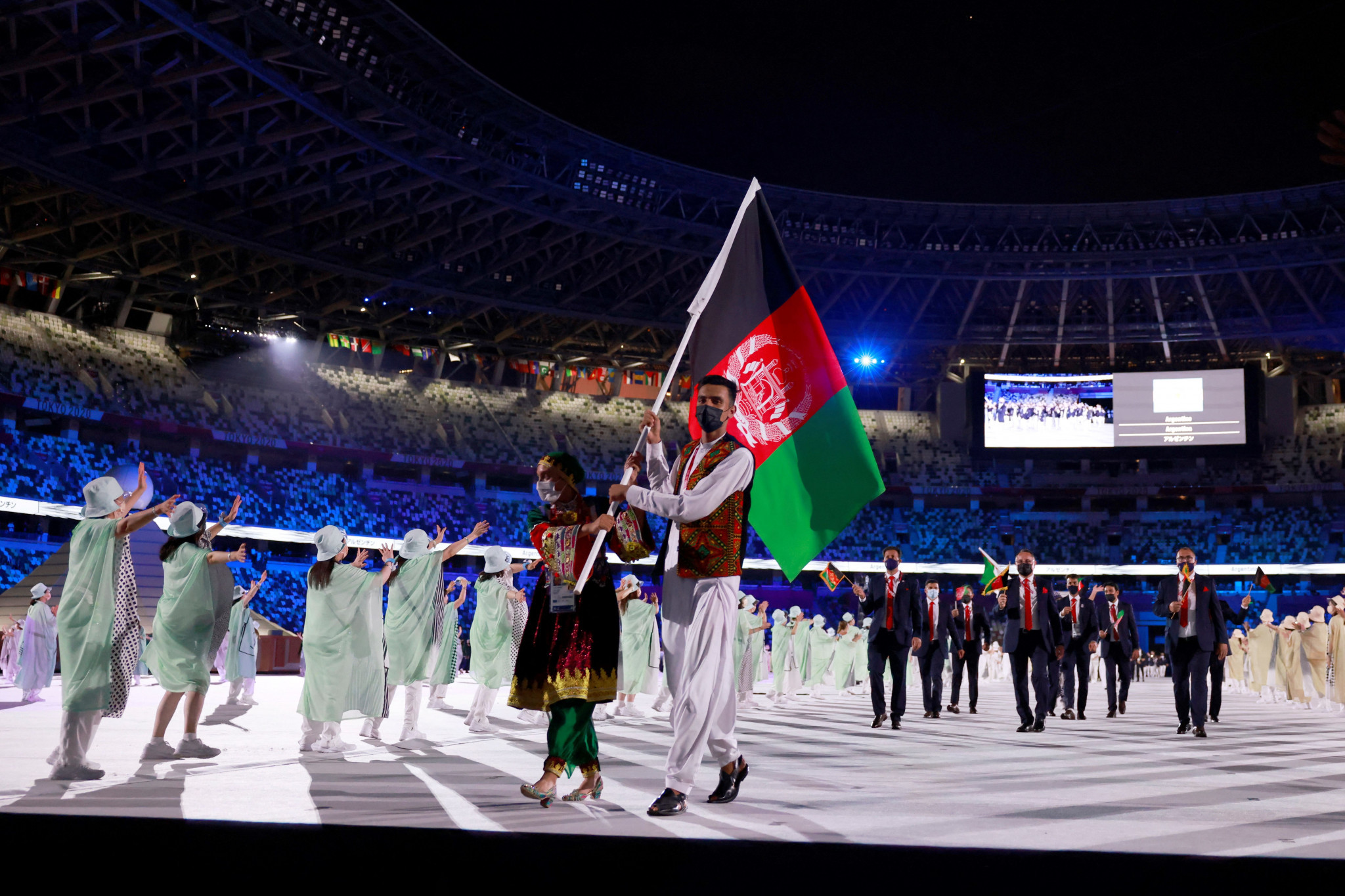 Bach praises response of Olympic community to Afghanistan crisis with more than 100 assisted in leaving nation