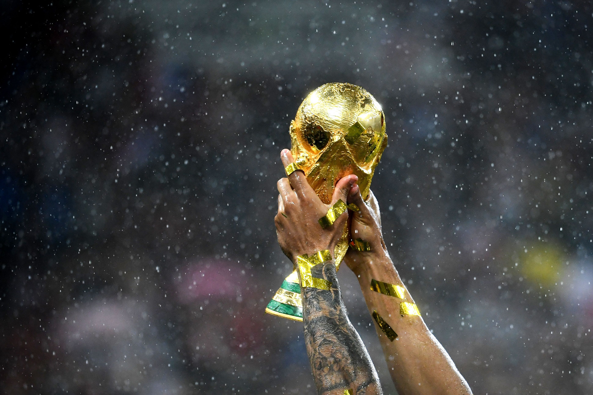 FIFA World Cups held every two years could clash with the Olympics ©Getty Images