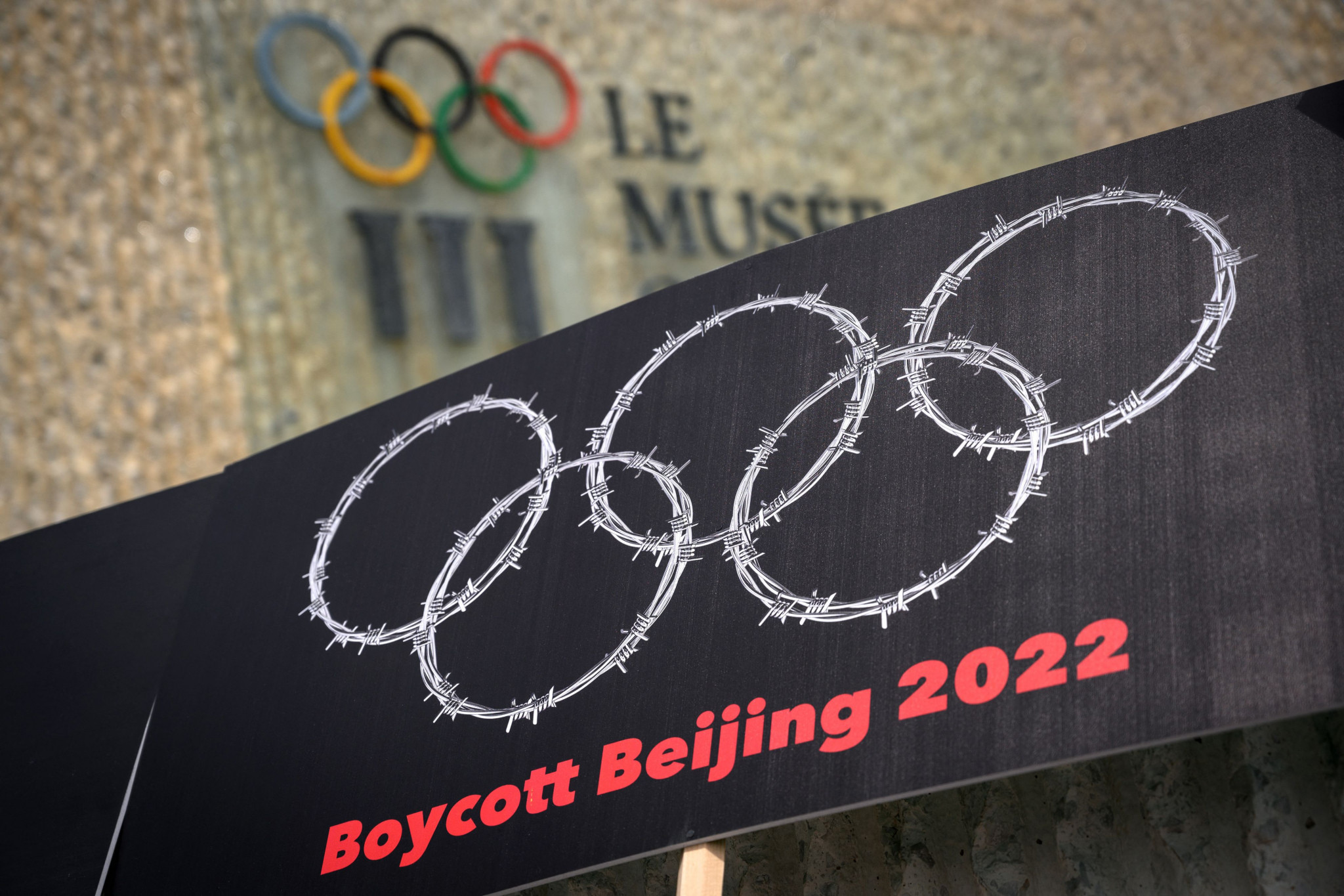 The IOC has faced pressure to address human rights concerns regarding Beijing 2022 ©Getty Images