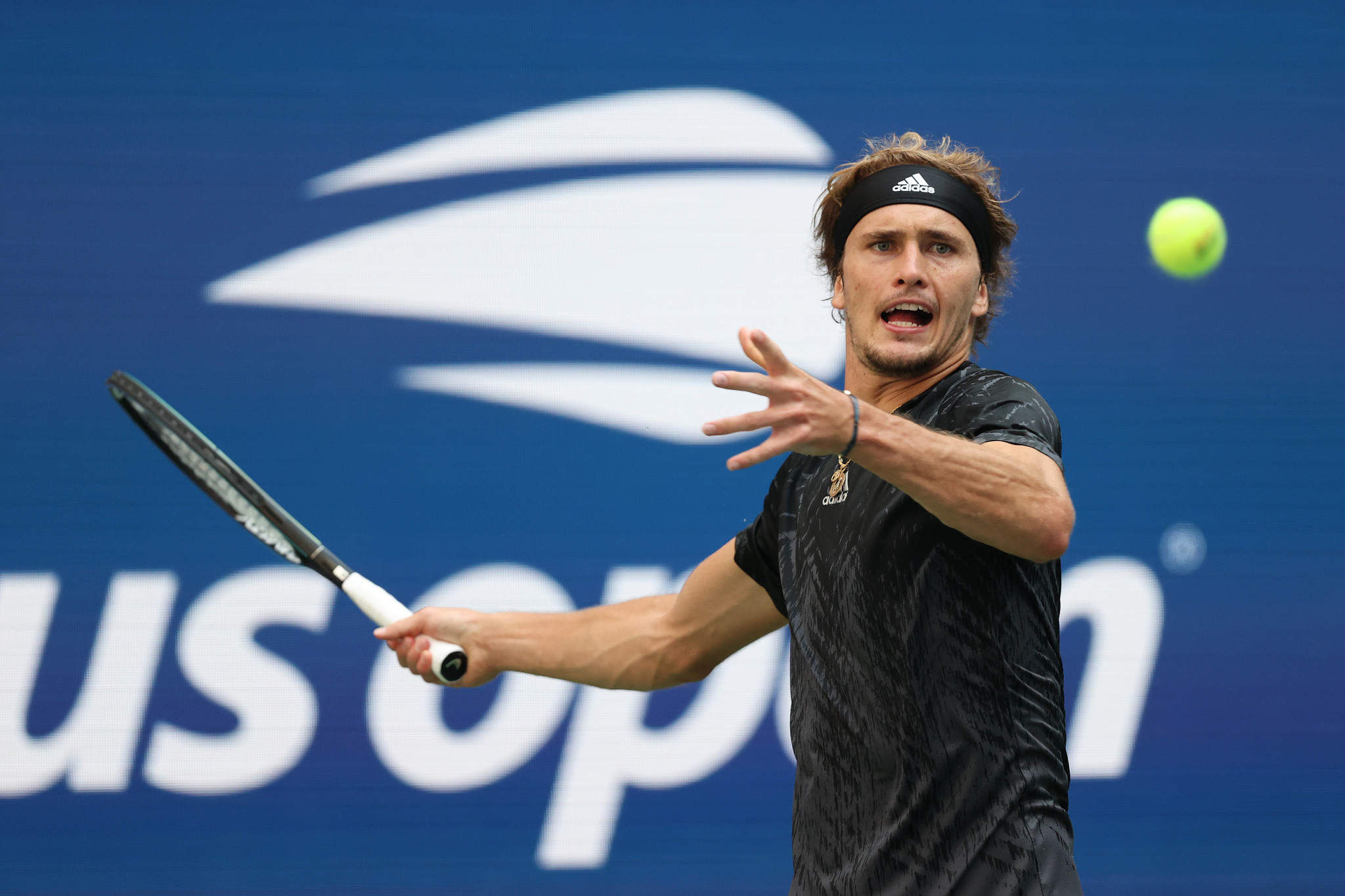 Last year's men's singles runner-up Alexander Zverev - also an Olympic champion - is likewise into the final four ©Getty Images