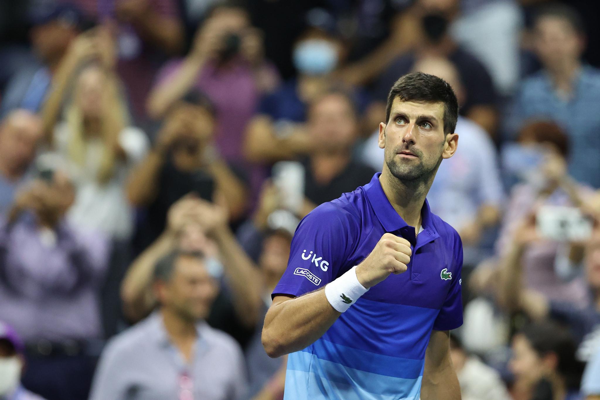 Djokovic sets up US Open semi-final clash with Zverev as win over Berrettini continues calendar Grand Slam bid