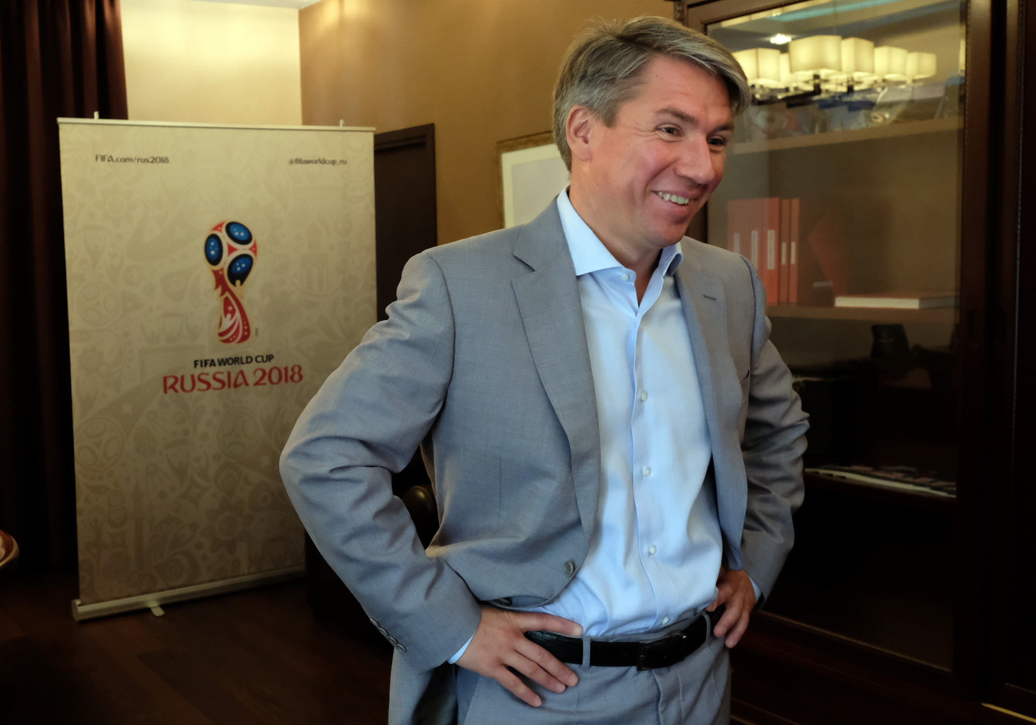 Alexei Sorokin was also chief executive of the Organising Committee for the 2018 FIFA World Cup, and vowed to deliver the UEFA Champions League