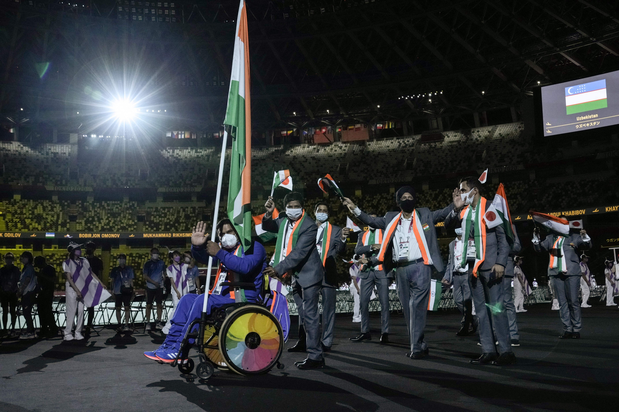Modi hosts reception for India's Paralympians after country's best-ever showing at Tokyo 2020