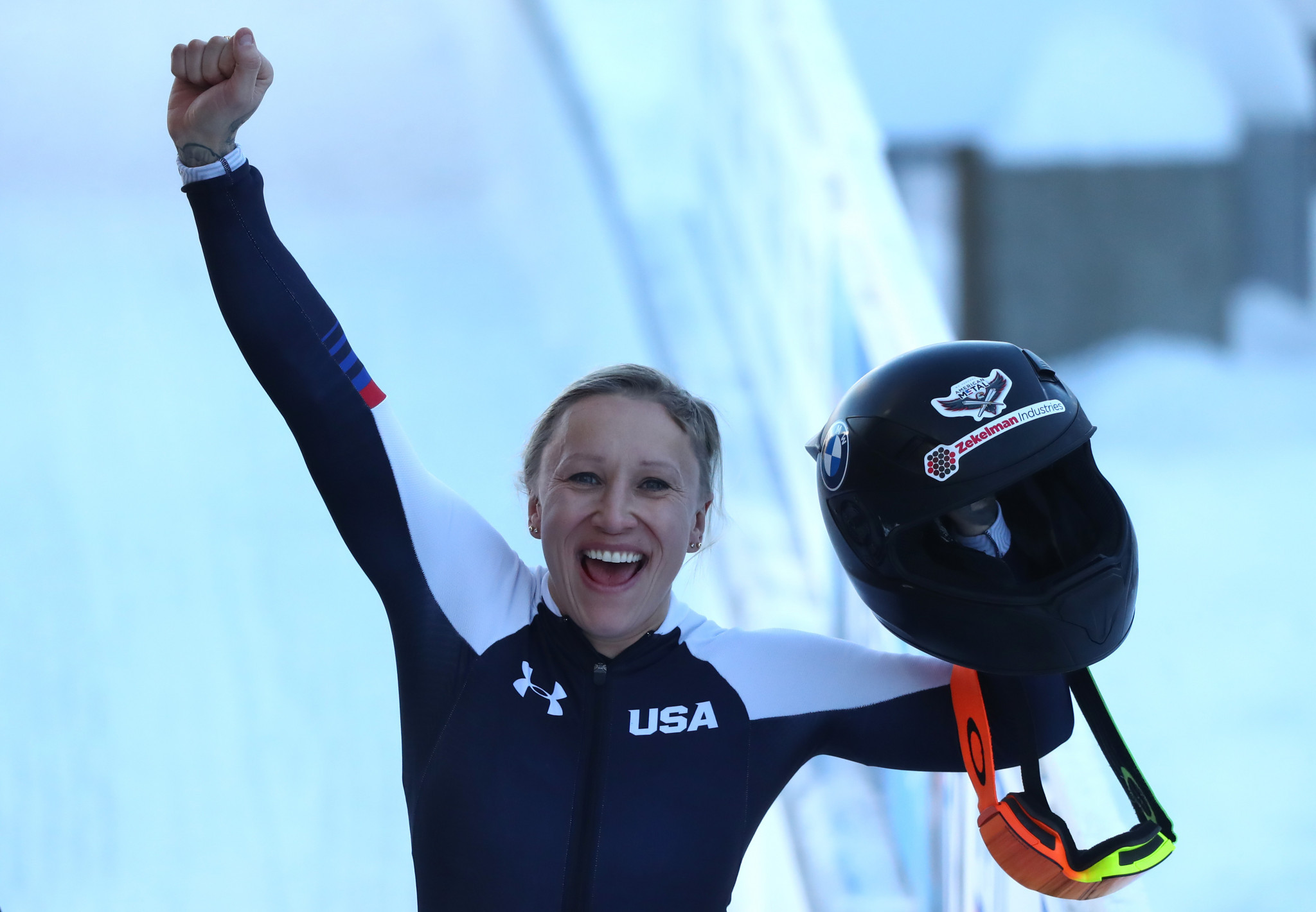 Humphries features as US bobsleigh and skeleton teams named for winter season