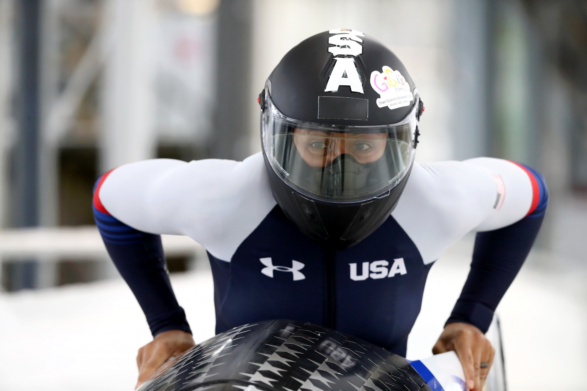 Three-times Olympic medallist Elana Meyers Taylor is also included as a pilot in the women's bobsleigh team ©Getty Images