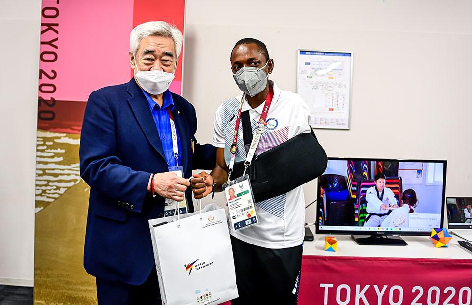 Parfait Hakizimana reached Tokyo 2020 after fleeing war ©World Taekwondo