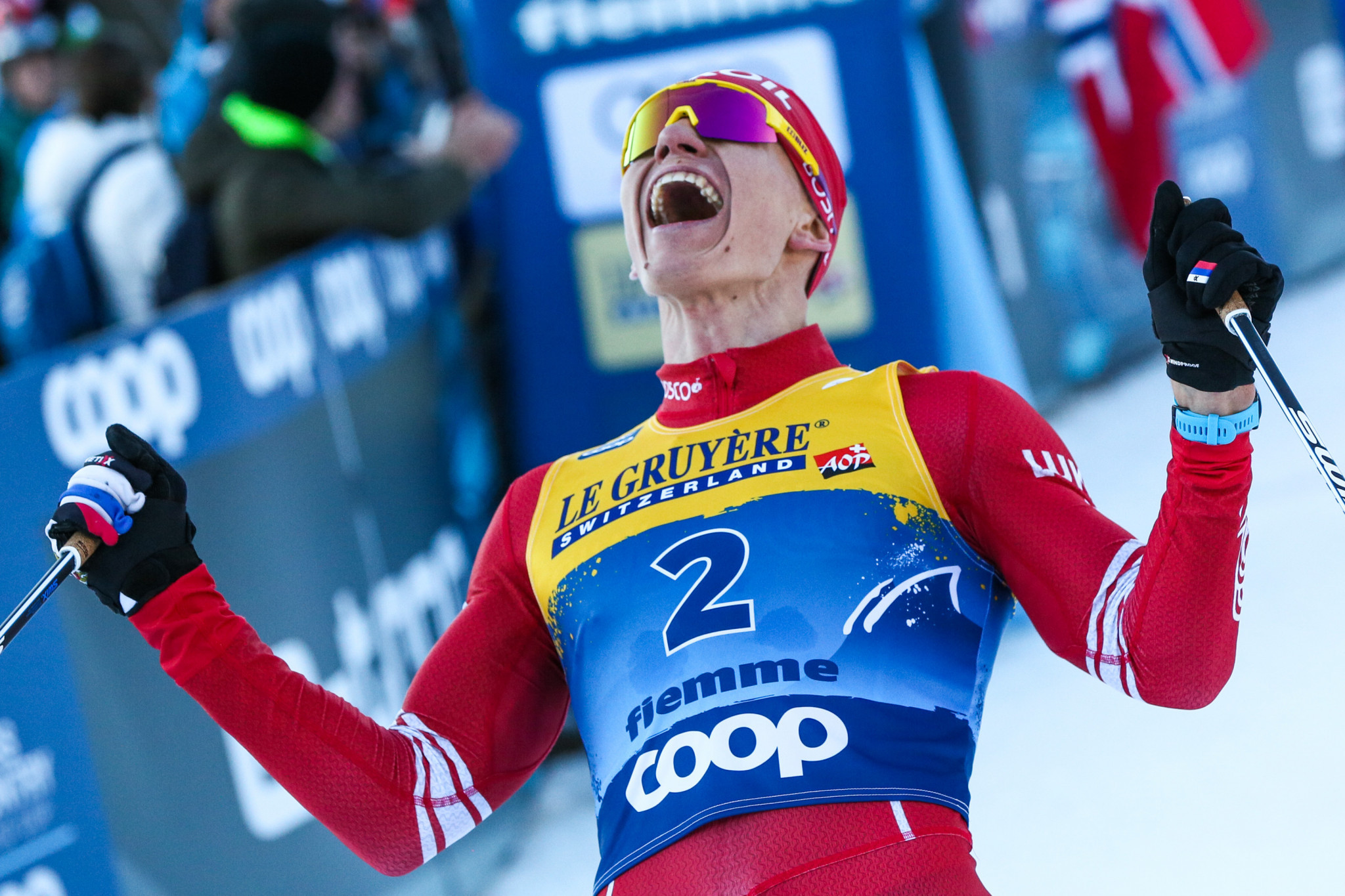 Alexander Bolshunov is a big Russian hope in cross-country skiing for Beijing 2022 ©Getty Images