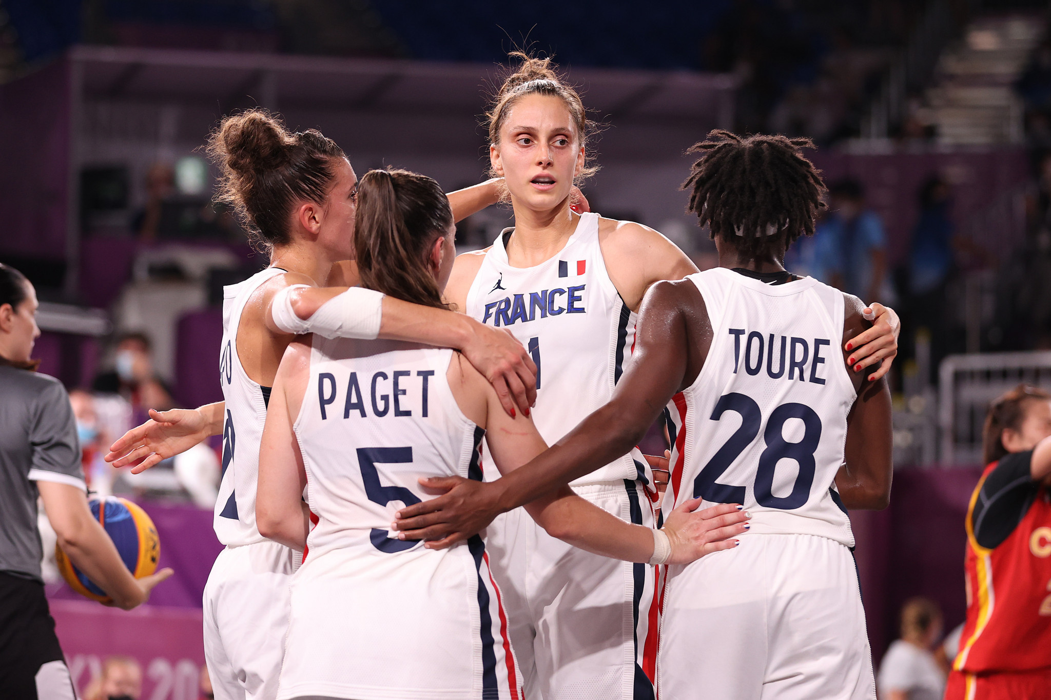 Hosts France are the women's FIBA 3x3 Europe Cup holders, but missed out on a medal at Tokyo 2020 ©Getty Images