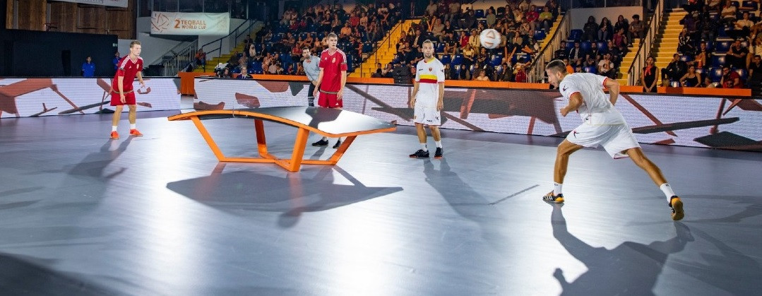 FITEQ study shows benefits of successful first serve in doubles teqball