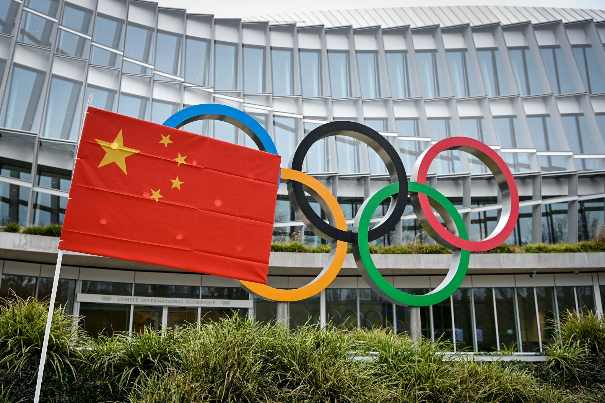 The IOC signing a further deal with state-run China Media Group can also been seen as a strengthening of ties between itself and the Chinese Government ©Getty Images