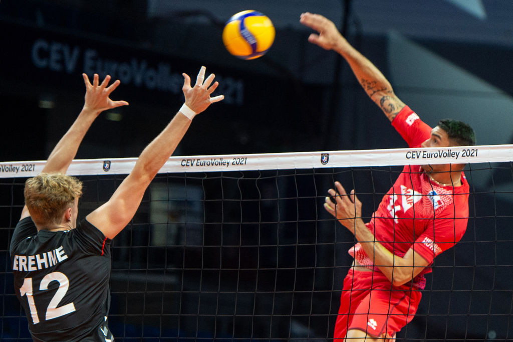 Olympic champions France top pool at Men's EuroVolley
