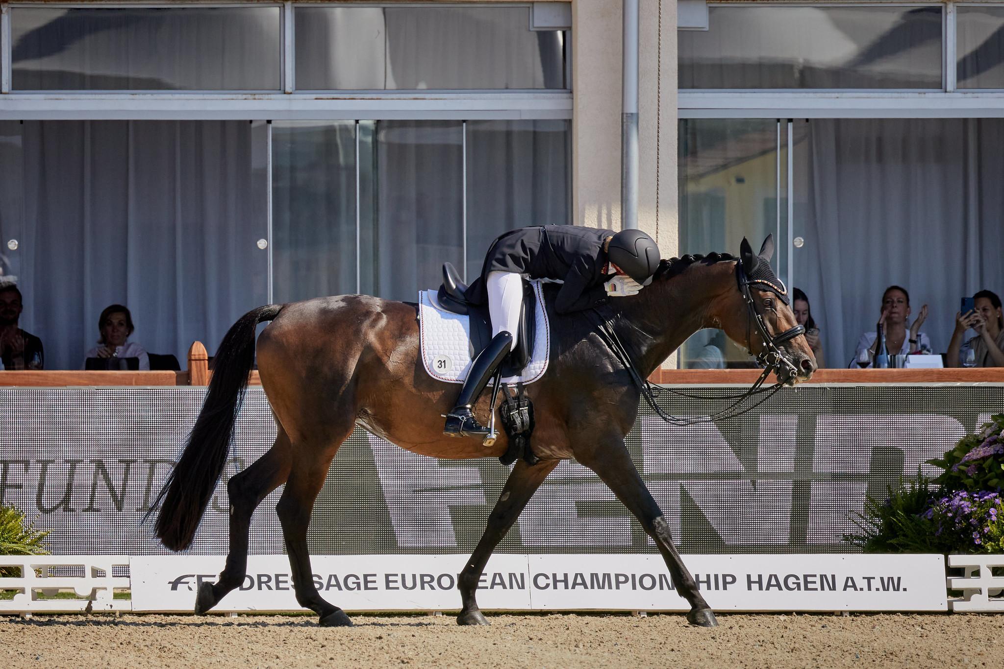 Von Bredow-Werndl wins second gold medal at FEI Dressage European Championships