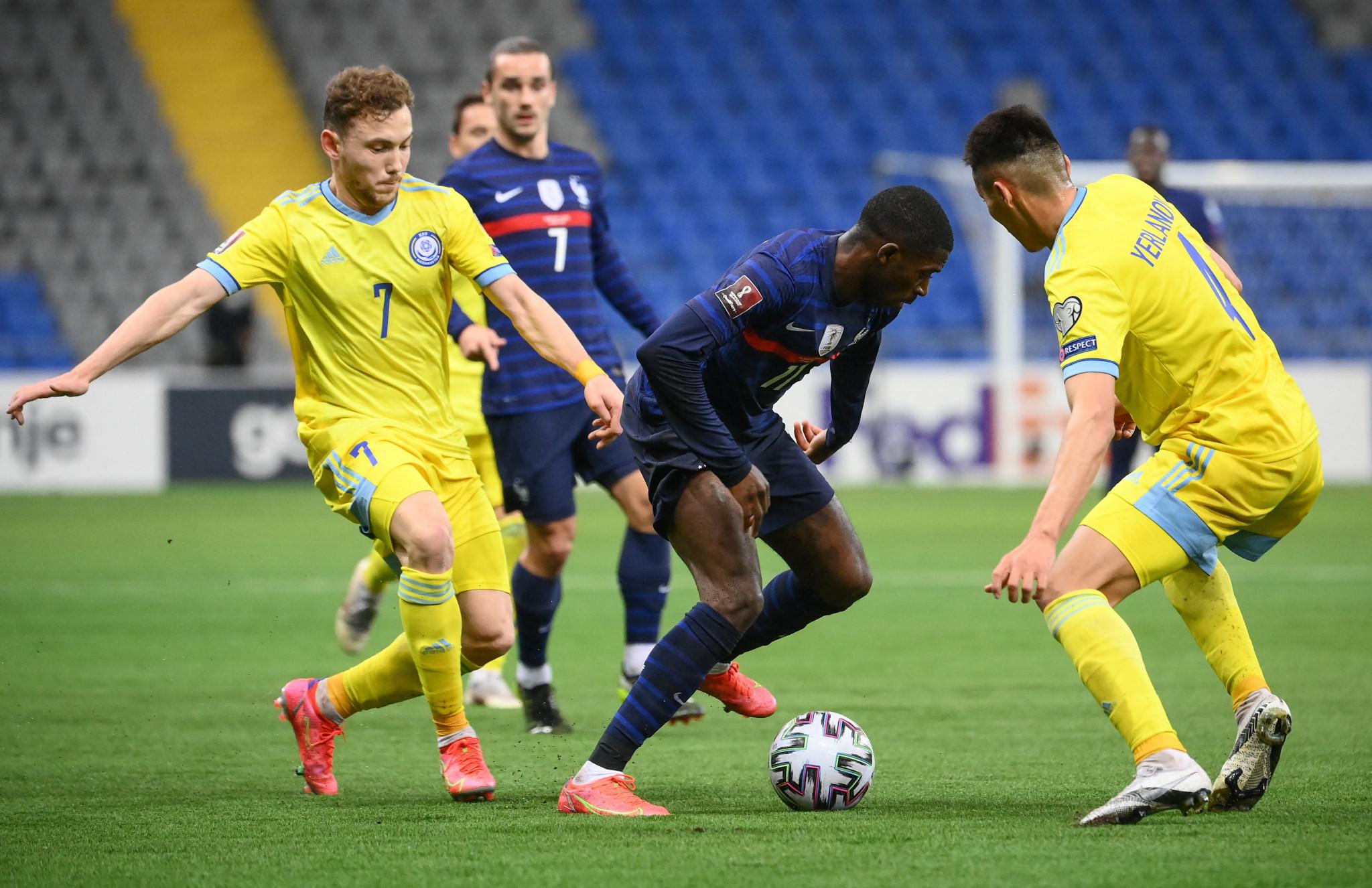 Ruslan Valiullin fails UEFA doping test after scoring twice for Kazakhstan