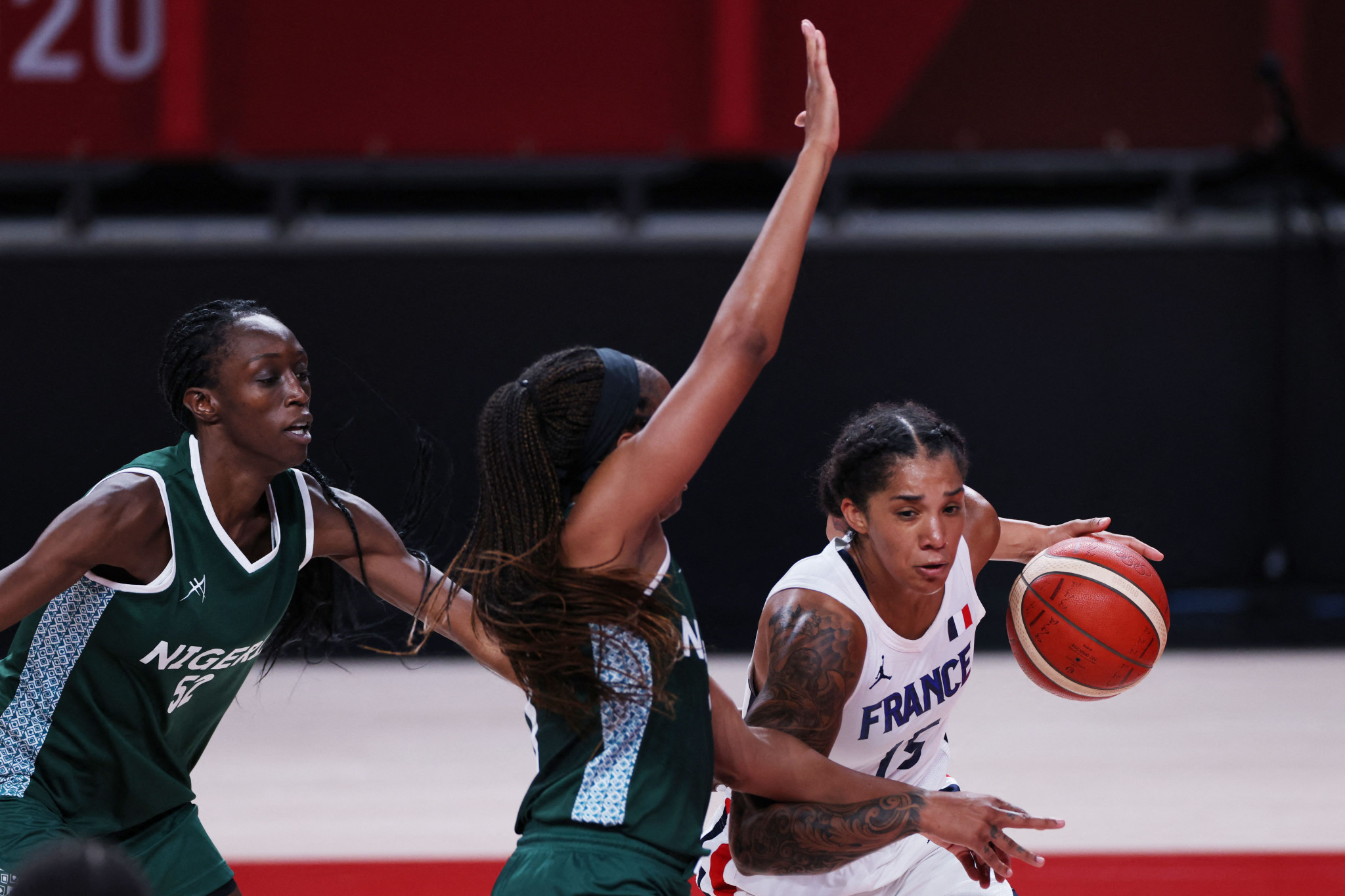 Both the men's and women's Nigerian basketball teams failed to qualify from the group stages at Tokyo 2020 ©Getty Images