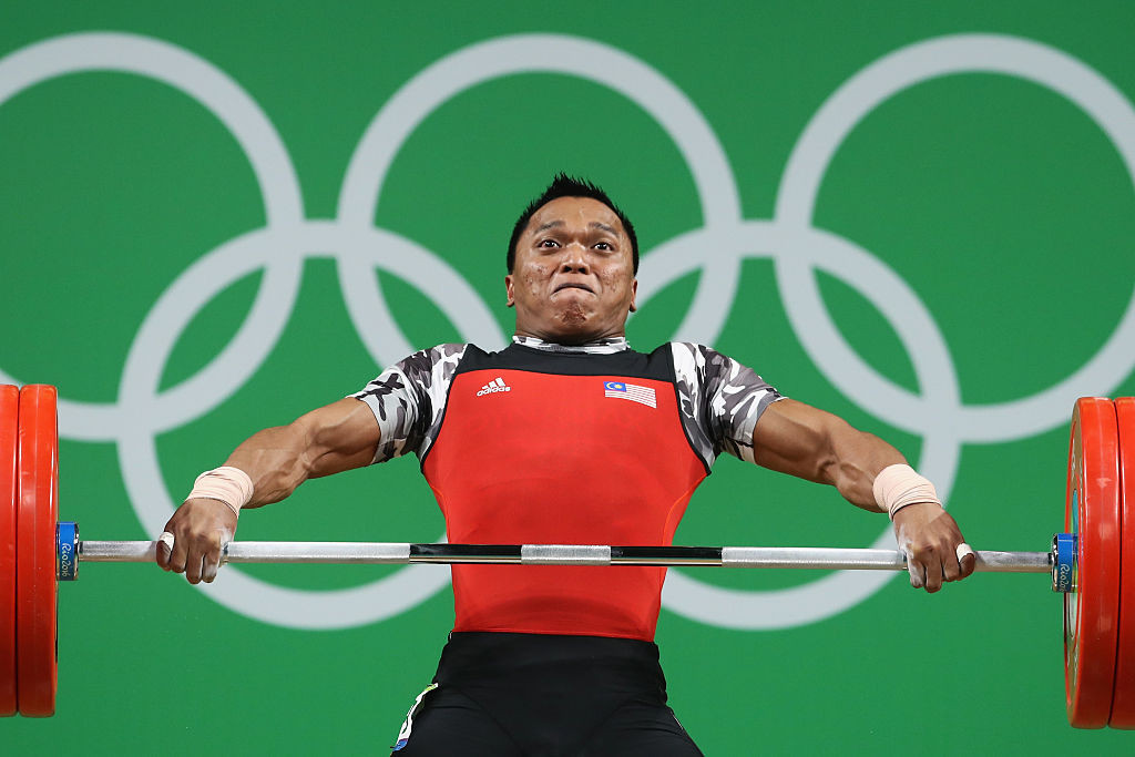 Commonwealth Games gold medallist Mohammad Hafifi bin Mansor is among the Malaysian weightlifters to have served a drugs ban ©Getty Images