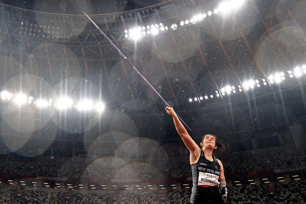Paralympic javelin champion Robinson wins Visa Award after gesture at Tokyo 2020