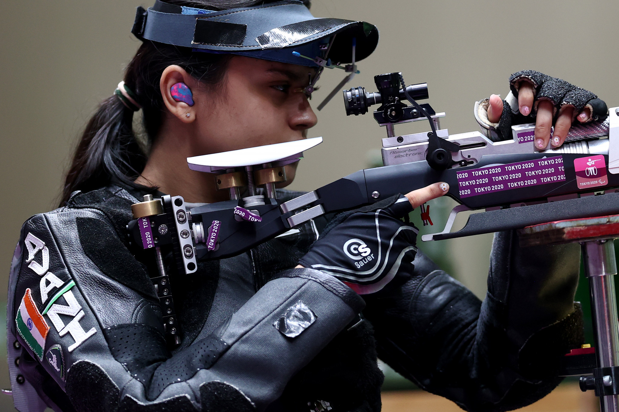 Avani Lekhara won India's first Paralympic gold medal of Tokyo 2020 in the women's R2 10-metre air rifle standing SH1 category ©Getty Images