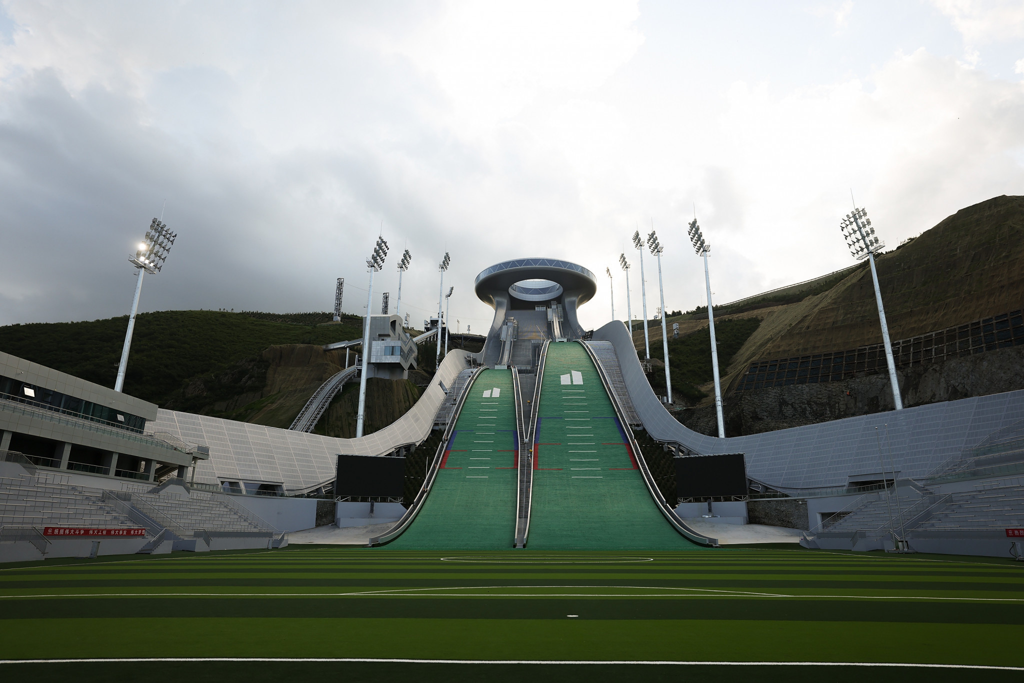 """Chinese first vice-premier calls for """"simple, safe and splendid"""" Winter Olympics"""