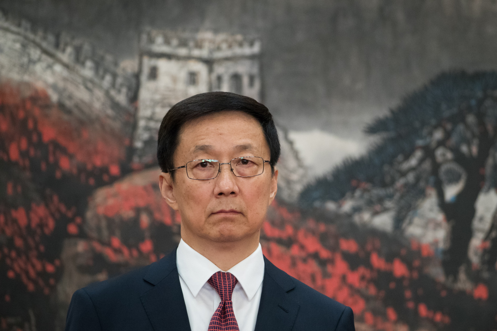 Chinese first vice-premier Han Zheng has called for