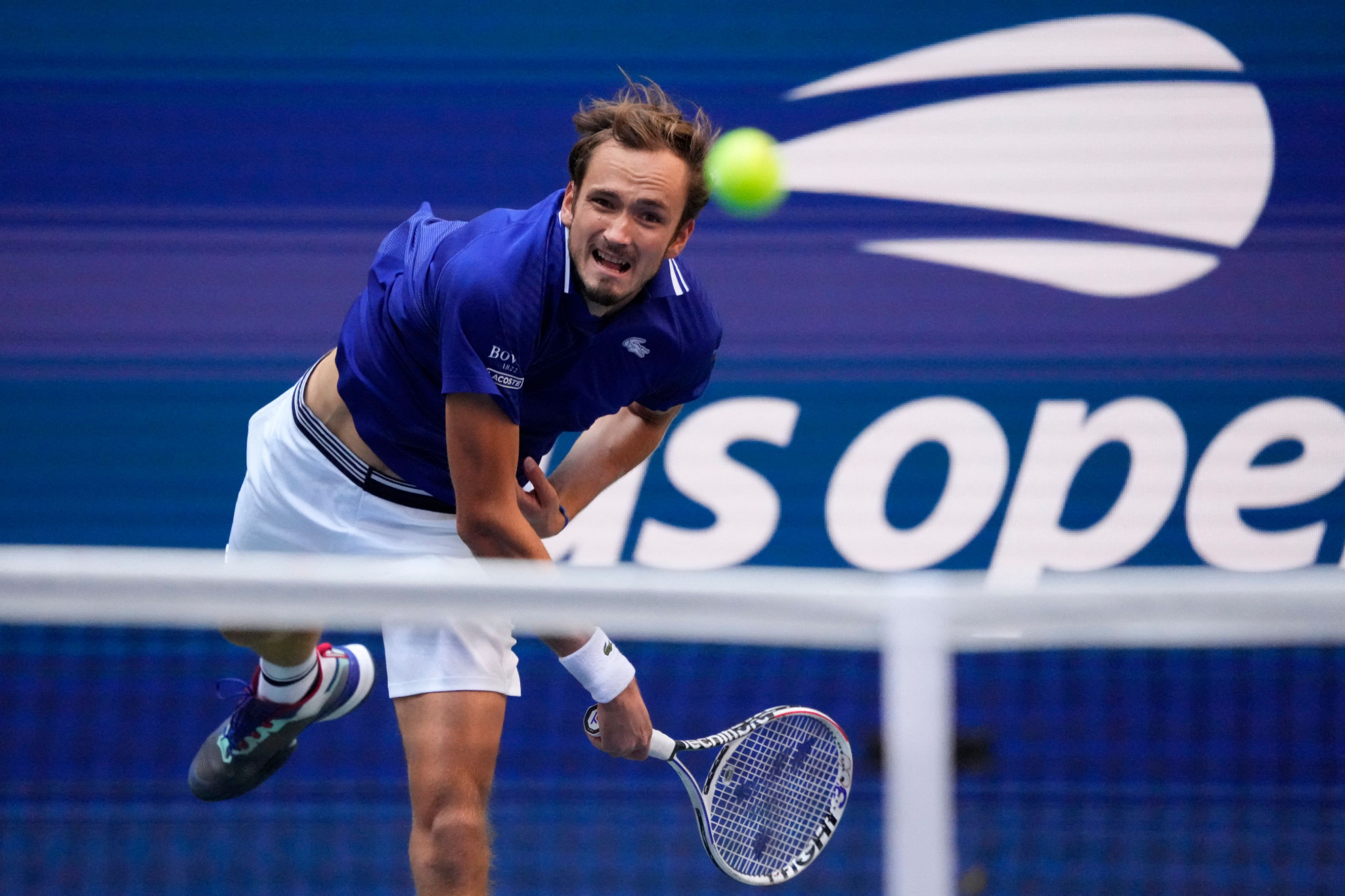 Daniil Medvedev has dropped only one set so far this tournament ©Getty Images