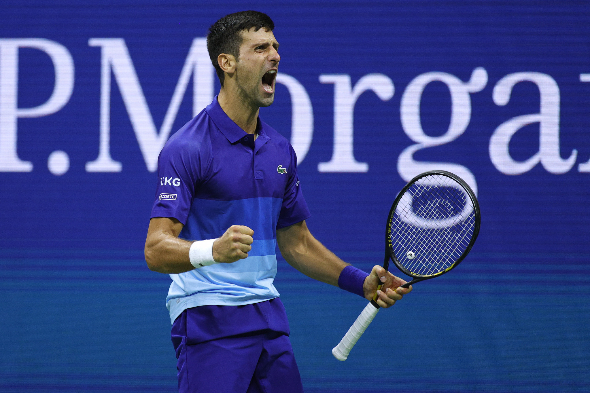 Djokovic one step from history as he sets up US Open final against Medvedev